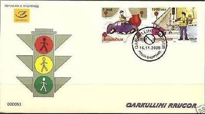 $ CDN26.46 • Buy Albania Stamps 2009. Road Traffic. Police. FDC MNH