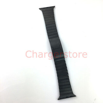 $ CDN308.44 • Buy Original Apple Watch Series 5 4 3 2 1 Link Bracelet Band 42mm 44MM SPACE BLACK