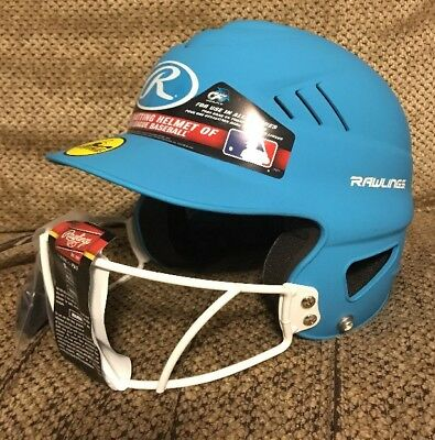 $44.95 • Buy NEW Rawlings Softball Helmet One Size Fits 6-1/2 To 7-1/2 ~ FREE SHIPPING