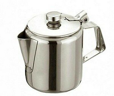 £17.99 • Buy Stainless Steel Teapot Tea Coffee Pot Avaiable 70oz 2Lt - Catering Quality