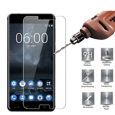 AU3.99 • Buy Nokia 6.1 /3.1 / 2.1 / 7.1/5.1 / 8.1 Premium 9H Tempered Glass Screen Protector
