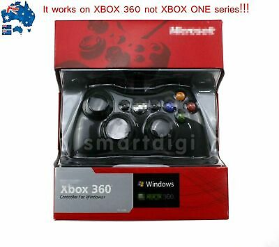 AU34.88 • Buy Hot Wired Gamepad Game Controller For Microsoft Xbox 360 Windows PC Game Console