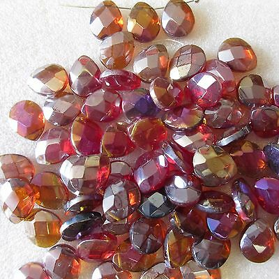 50 Briolette Teardrop Beads Assorted Colour Size12x10mm Crafts &Jewellery Making • 3.99£