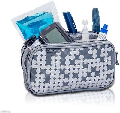 Elite Isothermal Cool Bag / Kitbag For Insulin & Diabetic Supplies Silver • 14.44£