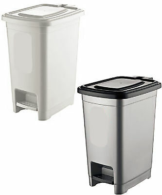 £9.95 • Buy Large Recycling Recycle Pedal Bin Waste Rubbish Kitchen Bedroom Office Basket