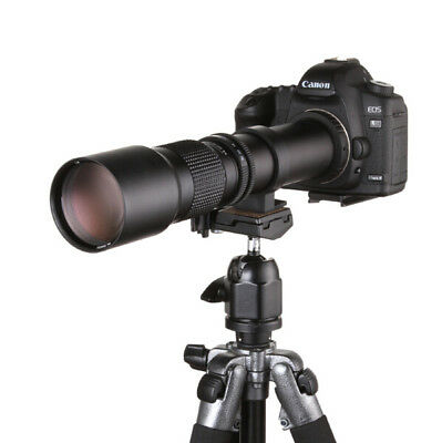 $ CDN122.44 • Buy 500mm F/8- 32 Super Telephoto Lens For Sony A Mount AF A5000 A7II A72 A6300 A99