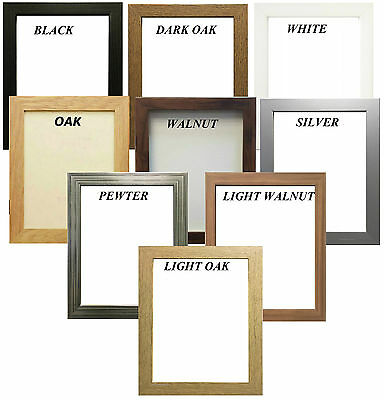 £3.40 • Buy Picture Frame Poster Photo Frame Wooden Effect Various Sizes & Colors Available