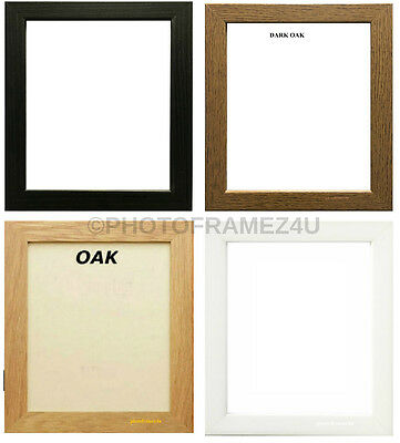 Photo Frame Picture Poster Frames Wood Wall Decor Hanging Frames A1 A2 A3 A4 A5 • 3.45£