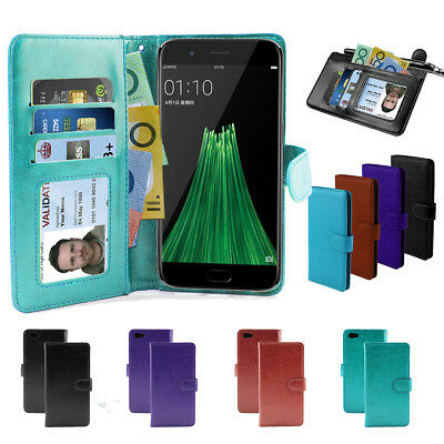 AU6.93 • Buy Oppo R11 R9s Plus F1s Oppo Case, Wallet Flip Leather Pocket Cover OZ