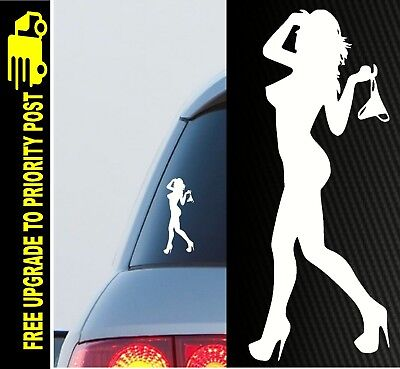 AU6.90 • Buy SEXY GIRL Car Ute PANTY DROPPER 4x4 4wd Accessories Sticker Funny Jdm Decal