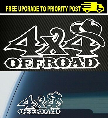 AU6.90 • Buy Outback Country Music 4x4 4wd Accessories Car Ute Sticker Horse Cute Decal
