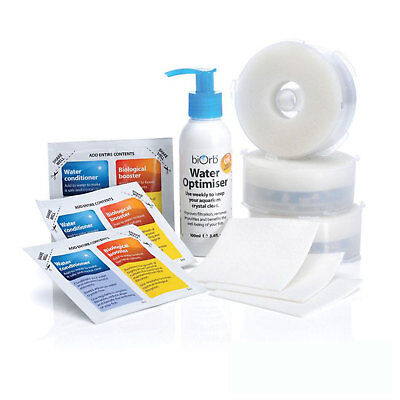 BiOrb Service Kit Triple Pack With Water Optimiser • 25.99£