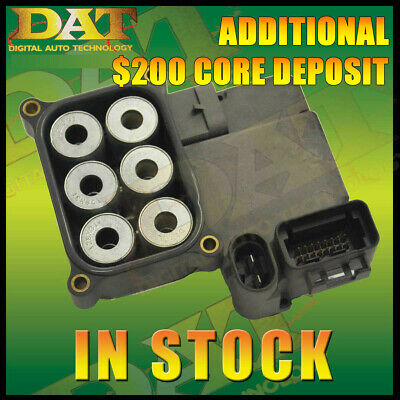 $200 • Buy 1335-4730 00-06 CHEVY SILVERADO TAHOE YUKON REBUILT ABS MODULE $200 Core Refund