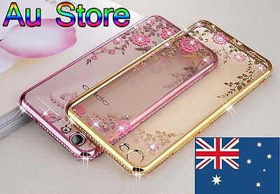 AU14.49 • Buy New Shinning Luxury Girl Favor Soft Back Cover Case  For Oppo F1S / A57 A39