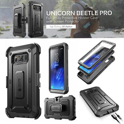 AU22.04 • Buy For Samsung Galaxy S8 ACTIVE Case SUPCASE Shockproof Cover With Screen Protector