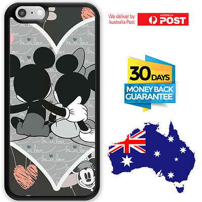 AU12.95 • Buy  IPhone X 8 7 Plus 6s Galaxy S9 S8 Plus Note 8 Case Disney Mickey Minnie Mouse