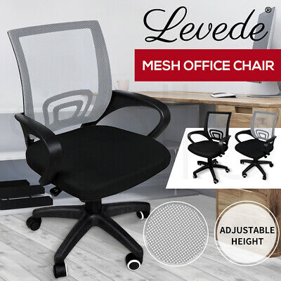 AU66.99 • Buy Levede Office Chair Gaming Computer Mesh Chairs Executive Seating Black Grey