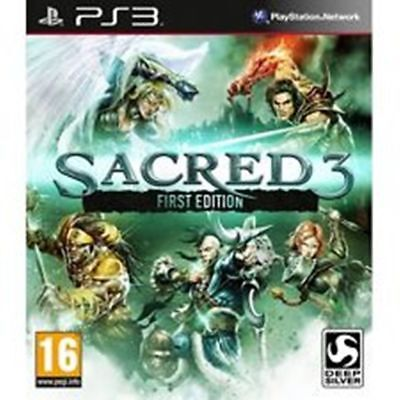 AU14.99 • Buy Sacred 3 First Edition PS3 FREE POST VERY GOOD!