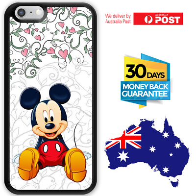 AU12.95 • Buy IPhone 8 7 6 Plus Samsung S8 S7 Edge Bumper Case Cover Mickey Mouse For Girls