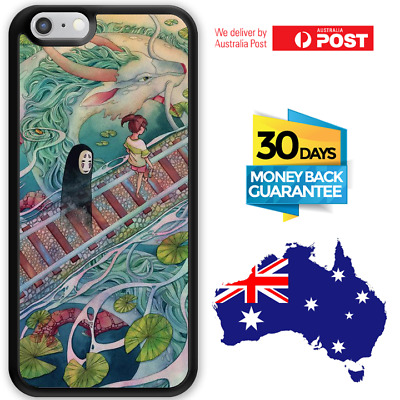 AU12.95 • Buy IPhone 8 7 Plus Samsung S8 S7 S6 Bumper Case Spirited Away No Face For Girls