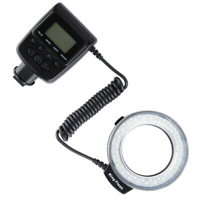 LD-48 LED Macro Ring Flash/Light With Lens Adapter Ring For Canon EOS 650D • 22.13£