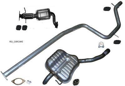 FORD GALAXY 1.8TDCi 06-10 Exhaust Complete System Cat, Centre & Rear Box No DPF • 199.95£