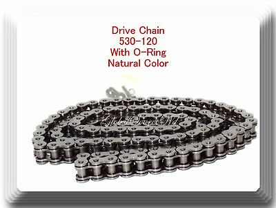 AU48.84 • Buy O-Ring Natural Color 530-120 Link Chain Motorcycle Fit Harley Sportster Dyna