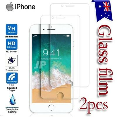 AU2.99 • Buy 2X For IPhone 13 12 11 Pro XS MAX XR 8 7 6S Plus Tempered Glass Screen Protector