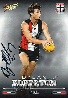 AU7.99 • Buy ✺Signed✺ 2016 ST KILDA SAINTS AFL Card DYLAN ROBERTON