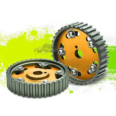 AU133.69 • Buy Aluminum Racing Cam Gear Pulley 4age Engine Dohc For Mr2/corolla/geo Prizm Gold