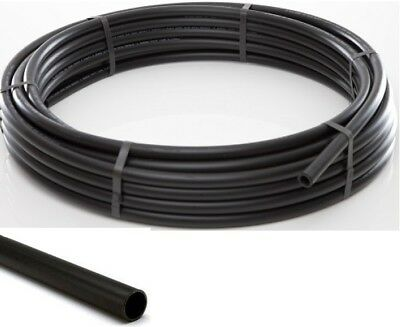 Electric Cable Duct Ducting 32mm Or 38mm ID X 100m Smooth Bore Coil Black  • 161.50£