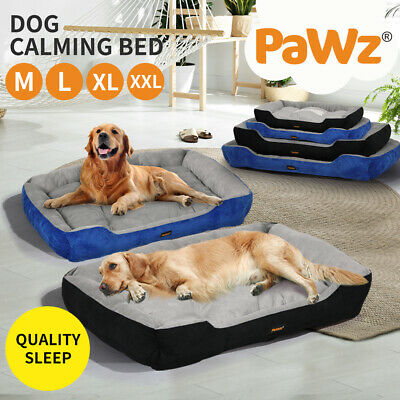 AU32.99 • Buy PaWz Pet Bed Dog Beds Bedding Mattress Mat Cushion Soft Pad Pads Mats M/L/XL