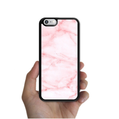 AU12.95 • Buy IPhone X 8 8 Plus 7 6 6s SE 5s 5 4 Rubber Case Cover Marble Pink For Girls Apple