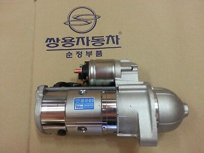 AU469.49 • Buy Genuine Starter Motor For Ssangyong MUSSO/SPORTS,KORANDO,ISTANA #6651510201