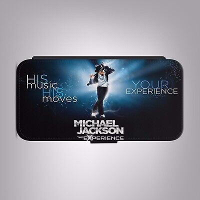 £8.88 • Buy Michael Jackson The Experience LEATHER FLIP PHONE CASE COVER Fits IPHONE SAMSUNG