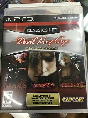 AU40.50 • Buy Devil May Cry HD Collection PS3