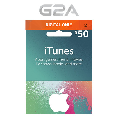 AU82.98 • Buy ITunes Gift Card $50 USD Key - 50 Dollar US Apple Store Code For IPhone IPad Mac