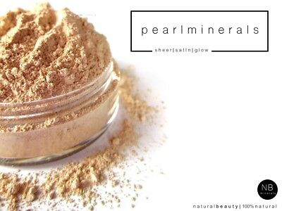 £8.95 • Buy Mineral Foundation Loose Powder Bare MakeUp Satin Sheer Cover Full Face Coverage