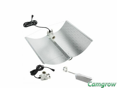 Adjust-A-Wings Avenger Miro Silver Reflector - Large For 1000W Hps Lamps/Bulbs • 126.95£