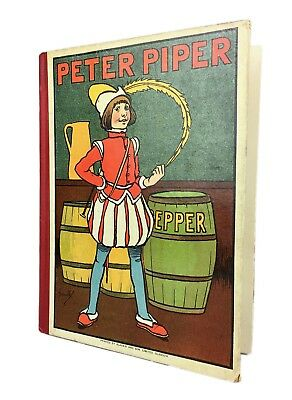 John Hassall -peter Piper & Other Nursery Rhymes- Blackie & Son Children's Book • 20£
