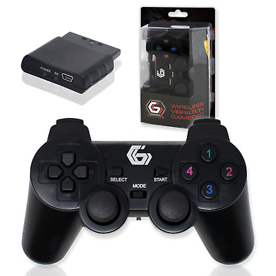 WIRELESS GAMEPAD | PC PS2 PS3 | Dual Vibration Controller | Gembird JPD WDV-01 • 14.99£
