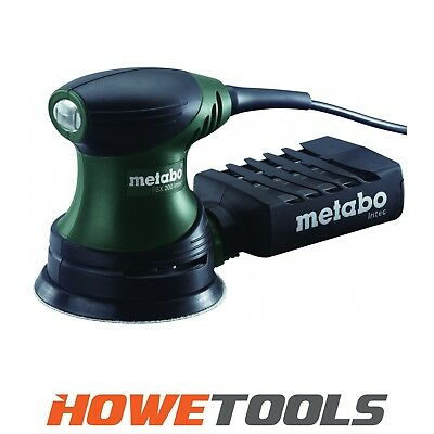METABO FSX200 INTEC 240v Orbital Sander 125mm Dia Pad • 53.04£