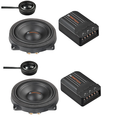 Match 2 Way 4   Component Speaker Upgrade To Fit BMW 1 Series F20 F21 • 149.95£