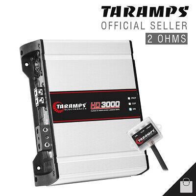 View Details Taramps HD 3000 2 Ohms Amplifier HD3000 3K Watts Taramp's Amp - 3 Day Delivery • 175.00$