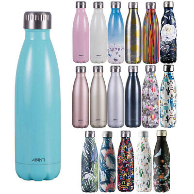 AU25 • Buy Avanti Fluid 500ml Water Vacuum Thermo Bottle/Stainless Steel/Cold/Hot/Drink