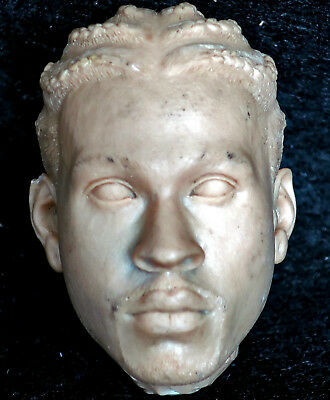 $1.80 • Buy 1/6 Scale Unpainted Action Figure Head Sculpt Iverson Enterbay NBA