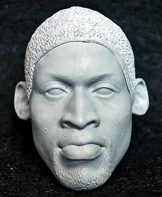 $11.80 • Buy 1/6 Scale Unpainted Action Figure Head Sculpt Dennis Rodman Enterbay Nba