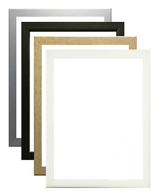 Modern Thin Picture Frame Photo Frames Home Decor Poster Frame Multi Size • 3.25£