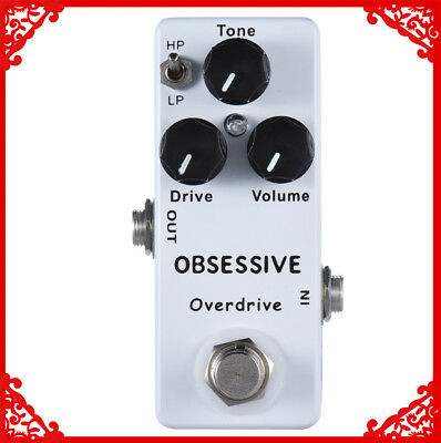 $ CDN25.92 • Buy Handmade Obsessive Compulsive Drive Guitar Effect Pedal Ultimate Overdrive