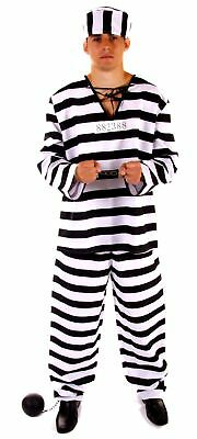 Fancy Dress Halloween Prisoner Costume • 7.25£